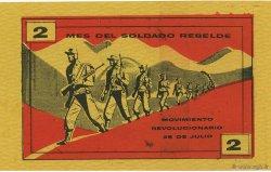 2 Pesos CUBA  1953  pr.NEUF