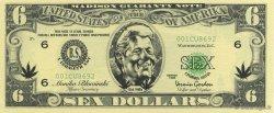 6 Dollars ÉTATS-UNIS D