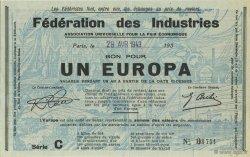 1 Europa FRANCE régionalisme et divers  1943  SUP