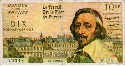 10 Nouveaux Francs FRANCE régionalisme et divers  1961  TTB