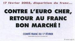 200 Francs FRANCE régionalisme et divers  2002  NEUF