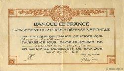 380 Francs FRANCE régionalisme et divers  1915  TTB+