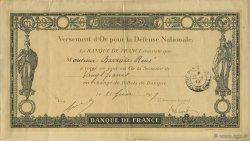 20 Francs FRANCE régionalisme et divers  1917  TTB