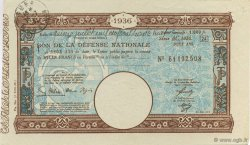 1000 Francs FRANCE régionalisme et divers  1936  SUP+