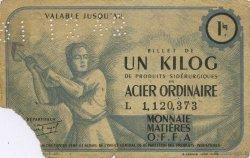 1 Kilo FRANCE régionalisme et divers  1940  TB