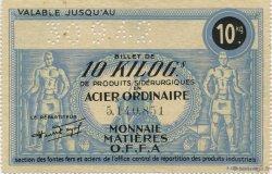 10 Kilos FRANCE régionalisme et divers  1940  SUP