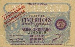 5 Kilos FRANCE régionalisme et divers  1940  SUP