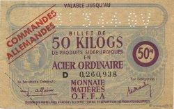 50 Kilos FRANCE régionalisme et divers  1940  SUP