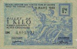1 Kilo FRANCE régionalisme et divers  1940  TTB
