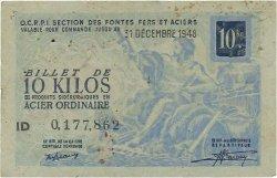 10 Kilos FRANCE régionalisme et divers  1940  TTB