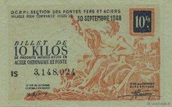 10 Kilos FRANCE régionalisme et divers  1940  TTB+