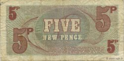5 New Pence ANGLETERRE  1972 P.M044a TB