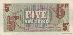 5 New Pence ANGLETERRE  1972 P.M044a SUP