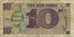 10 New Pence ANGLETERRE  1972 P.M045a TB