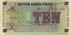 10 New Pence ANGLETERRE  1972 P.M045a TTB