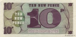 10 New Pence ANGLETERRE  1972 P.M045a SUP