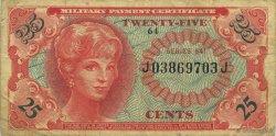 25 Cents ÉTATS-UNIS D