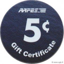 5 Cents AAFES ÉTATS-UNIS D