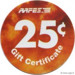 25 Cents AAFES ÉTATS-UNIS D