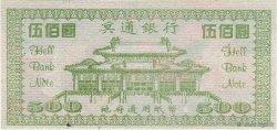 500 (Dollars) CHINE  2008  NEUF