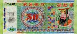 50 Dollars CHINE  2008  NEUF