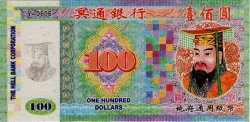 100 Dollars  CHINE  2008  NEUF