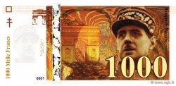 1000 Francs De Gaulle FRANCE régionalisme et divers  2008  NEUF