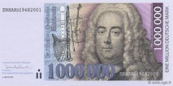 1000000 Marks ALLEMAGNE  2001  NEUF
