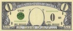 0 Dollar ÉTATS-UNIS D