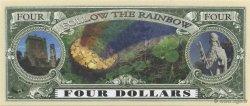 4 Dollars ÉTATS-UNIS D