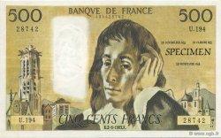 500 Francs Pascal FRANCE régionalisme et divers  1983  NEUF