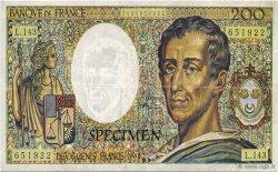 200 Francs Montesquieu FRANCE régionalisme et divers  1992  NEUF