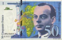 50 Francs SAINT-EXUPÉRY FRANCE régionalisme et divers  1992  NEUF