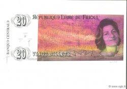 20 Billets FRANCE régionalisme et divers  1998  NEUF