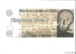 50 Livres  FRANCE regionalism and miscellaneous  1998  UNC