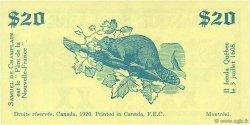 20 Dollars CANADA  1920  TTB à SUP