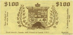 100 Dollars CANADA  1920  TTB à SUP