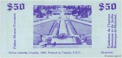 50 Dollars CANADA  1920  NEUF