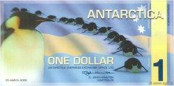 1 Dollar ANTARCTICA  2008  NEUF