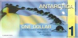 1 Dollar ANTARCTICA  2010  NEUF