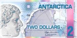 2 Dollars ANTARCTICA  2008  NEUF