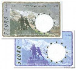 3 Euro et 7 Euro FRANCE régionalisme et divers  1996  NEUF