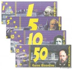 1-50 Euro Bisontin FRANCE régionalisme et divers  1998  NEUF
