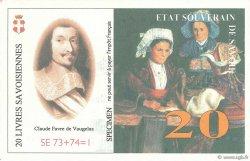 20 Livres Savoisiennes FRANCE régionalisme et divers  1998  NEUF