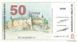 50 Livres Savoisiennes FRANCE régionalisme et divers  1998  NEUF