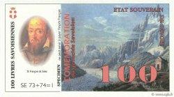 100 Livres Savoisiennes FRANCE régionalisme et divers  1998  NEUF