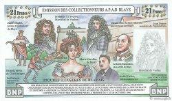 3 Euros / 21 Francs FRANCE régionalisme et divers  1996  NEUF