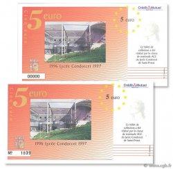5 Euro FRANCE régionalisme et divers  1996  NEUF
