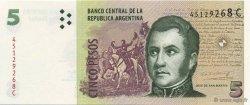 5 Pesos ARGENTINE  2003 P.353 NEUF