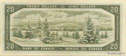 20 Dollars CANADA  1954 P.080b NEUF